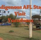 AFL All Stars Yuendumu Visit
