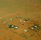 1950's Yuendumu from the air