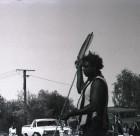 Spear thrower at Yuendumu Sports Weekend