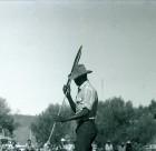 Spear thrower at Yuendumu Sports
