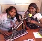engawala trainees Kathy and Sarah Inkamala