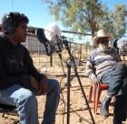Dennis Charles interviewing Jack Cook