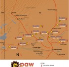 PAW Radio Network map
