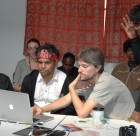 Animation training at the 13th Annual Remote Indigenous Media Festival