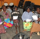 UPC Living Waters gospel recording in the PAW Music Studio