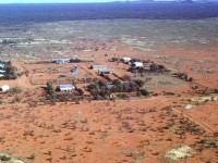 Yuendumu from the air in the early 1960s