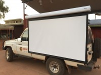 Portable Video Projection Screen
