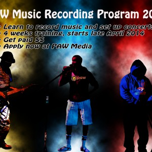 2014 Music Recording Program Announced